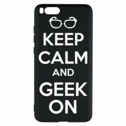 Чехол для Xiaomi Mi Note 3 KEEP CALM and GEEK ON - FatLine