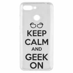 Чехол для Xiaomi Redmi 6 KEEP CALM and GEEK ON - FatLine