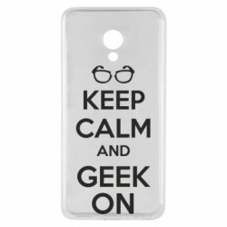 Чехол для Meizu M5 KEEP CALM and GEEK ON - FatLine
