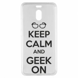 Чехол для Meizu M6 Note KEEP CALM and GEEK ON - FatLine