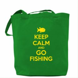 Сумка Keep Calm and go fishing