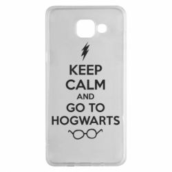 Чехол для Samsung A5 2016 KEEP CALM and GO TO HOGWARTS - FatLine