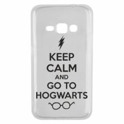 Чехол для Samsung J1 2016 KEEP CALM and GO TO HOGWARTS - FatLine