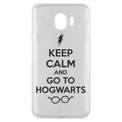 Чехол для Samsung J4 KEEP CALM and GO TO HOGWARTS - FatLine
