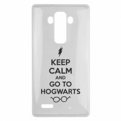 Чехол для LG G4 KEEP CALM and GO TO HOGWARTS - FatLine