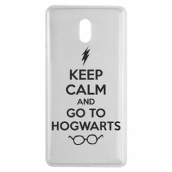 Чехол для Nokia 3 KEEP CALM and GO TO HOGWARTS - FatLine
