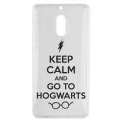 Чехол для Nokia 6 KEEP CALM and GO TO HOGWARTS - FatLine
