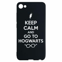 Чехол для Meizu U10 KEEP CALM and GO TO HOGWARTS - FatLine