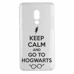 Чехол для Meizu 15 Plus KEEP CALM and GO TO HOGWARTS - FatLine