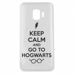 Чехол для Samsung J2 Core KEEP CALM and GO TO HOGWARTS - FatLine