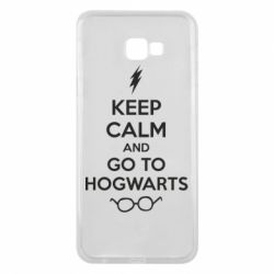 Чехол для Samsung J4 Plus 2018 KEEP CALM and GO TO HOGWARTS