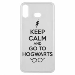 Чехол для Samsung A6s KEEP CALM and GO TO HOGWARTS - FatLine