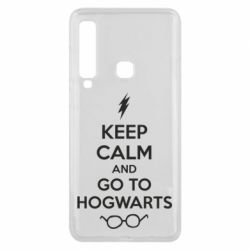 Чехол для Samsung A9 2018 KEEP CALM and GO TO HOGWARTS - FatLine