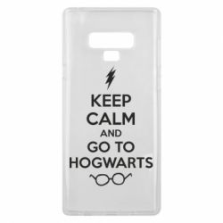Чехол для Samsung Note 9 KEEP CALM and GO TO HOGWARTS