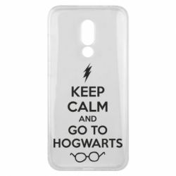 Чехол для Meizu 16x KEEP CALM and GO TO HOGWARTS - FatLine
