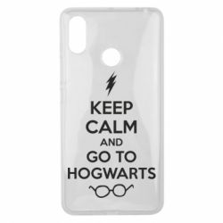 Чехол для Xiaomi Mi Max 3 KEEP CALM and GO TO HOGWARTS - FatLine