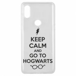Чехол для Xiaomi Mi Mix 3 KEEP CALM and GO TO HOGWARTS - FatLine