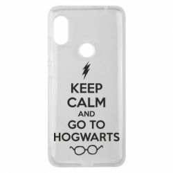 Чехол для Xiaomi Redmi Note 6 Pro KEEP CALM and GO TO HOGWARTS - FatLine