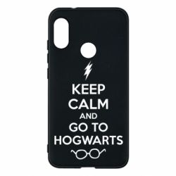 Чехол для Mi A2 Lite KEEP CALM and GO TO HOGWARTS - FatLine