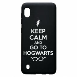Чехол для Samsung A10 KEEP CALM and GO TO HOGWARTS