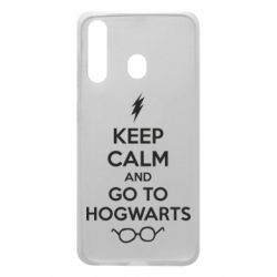 Чехол для Samsung A60 KEEP CALM and GO TO HOGWARTS