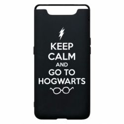 Чехол для Samsung A80 KEEP CALM and GO TO HOGWARTS