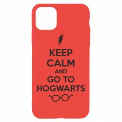 Чехол для iPhone 11 Pro Max KEEP CALM and GO TO HOGWARTS