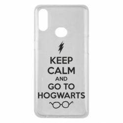 Чехол для Samsung A10s KEEP CALM and GO TO HOGWARTS