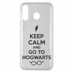 Чехол для Samsung M30 KEEP CALM and GO TO HOGWARTS