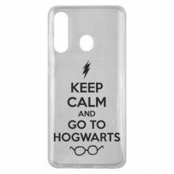 Чехол для Samsung M40 KEEP CALM and GO TO HOGWARTS