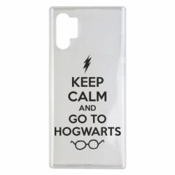 Чехол для Samsung Note 10 Plus KEEP CALM and GO TO HOGWARTS