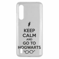 Чехол для Xiaomi Mi9 Lite KEEP CALM and GO TO HOGWARTS