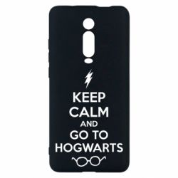 Чехол для Xiaomi Mi9T KEEP CALM and GO TO HOGWARTS