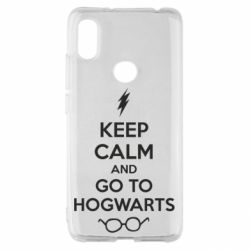 Чехол для Xiaomi Redmi S2 KEEP CALM and GO TO HOGWARTS