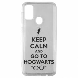 Чехол для Samsung M30s KEEP CALM and GO TO HOGWARTS