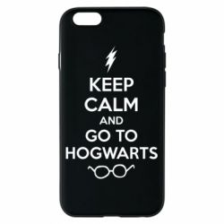 Чехол для iPhone 6/6S KEEP CALM and GO TO HOGWARTS - FatLine