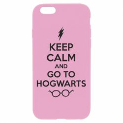 Чехол для iPhone 6 Plus/6S Plus KEEP CALM and GO TO HOGWARTS