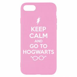 Чехол для iPhone 7 KEEP CALM and GO TO HOGWARTS - FatLine