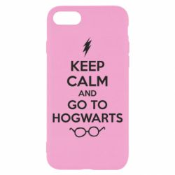 Чехол для iPhone 8 KEEP CALM and GO TO HOGWARTS