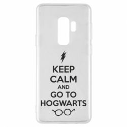Чехол для Samsung S9+ KEEP CALM and GO TO HOGWARTS