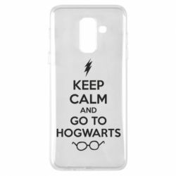 Чехол для Samsung A6+ 2018 KEEP CALM and GO TO HOGWARTS