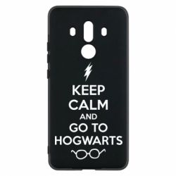 Чехол для Huawei Mate 10 Pro KEEP CALM and GO TO HOGWARTS - FatLine