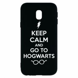 Чехол для Samsung J3 2017 KEEP CALM and GO TO HOGWARTS - FatLine