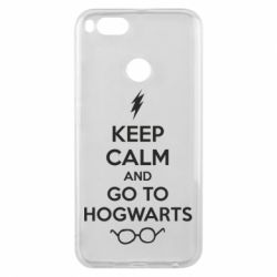 Чехол для Xiaomi Mi A1 KEEP CALM and GO TO HOGWARTS - FatLine