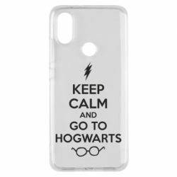 Чехол для Xiaomi Mi A2 KEEP CALM and GO TO HOGWARTS - FatLine