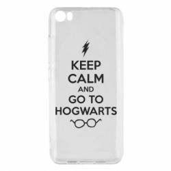 Чехол для Xiaomi Xiaomi Mi5/Mi5 Pro KEEP CALM and GO TO HOGWARTS - FatLine