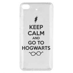 Чехол для Xiaomi Mi 5s KEEP CALM and GO TO HOGWARTS - FatLine