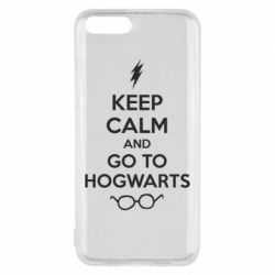 Чехол для Xiaomi Mi6 KEEP CALM and GO TO HOGWARTS - FatLine