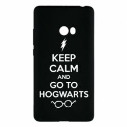 Чехол для Xiaomi Mi Note 2 KEEP CALM and GO TO HOGWARTS - FatLine