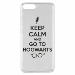 Чехол для Xiaomi Mi Note 3 KEEP CALM and GO TO HOGWARTS - FatLine